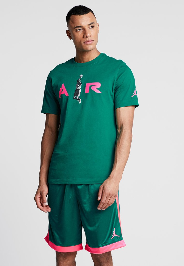 Jordan - TEE AIR  - T-Shirt print - mystic green