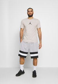 Jordan - JUMPMAN CREW - T-shirt z nadrukiem - moon particle/black - 1