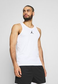 Jordan - 23ALPHA BUZZER BEATER TANK - Top - white/black - 0