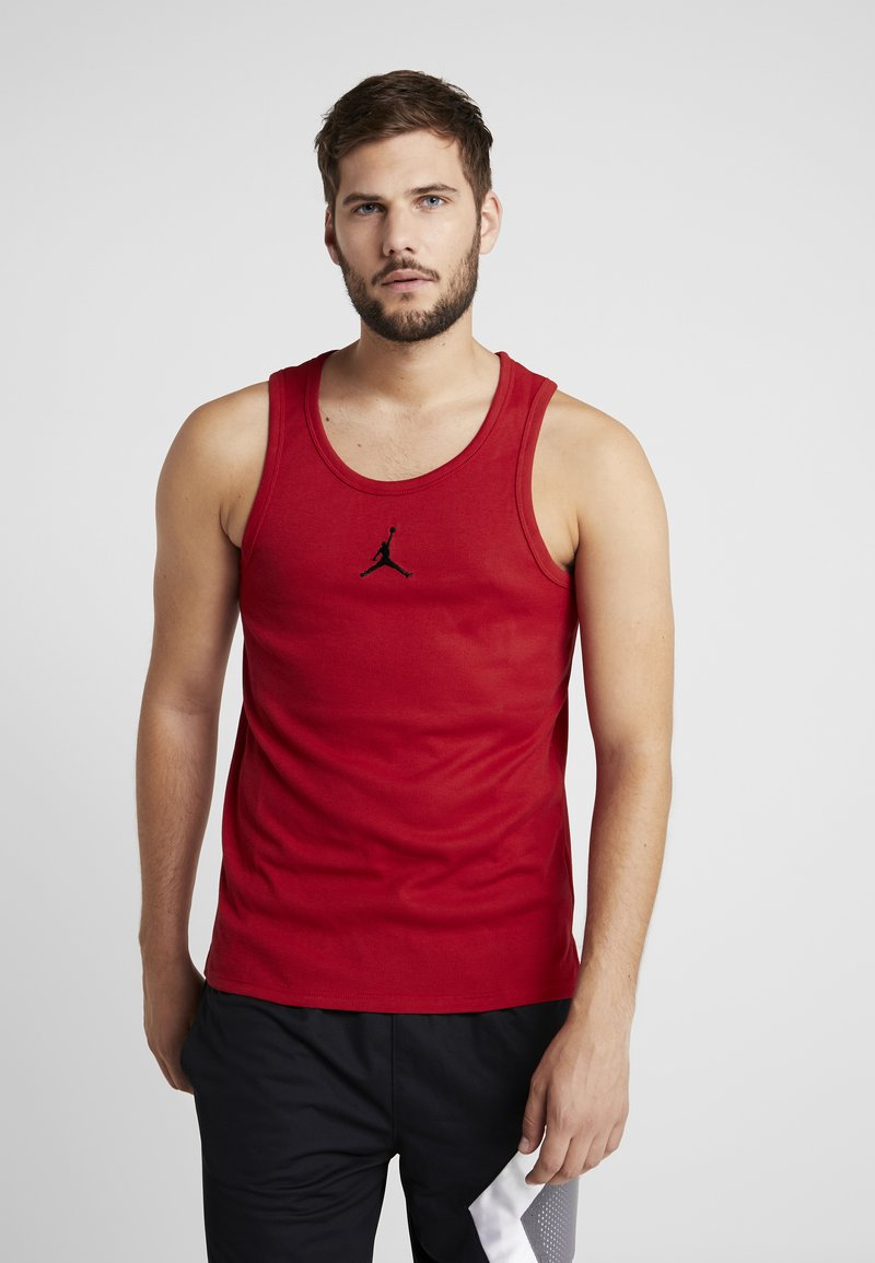 Jordan - 23ALPHA BUZZER BEATER TANK - Toppe - gym red/black