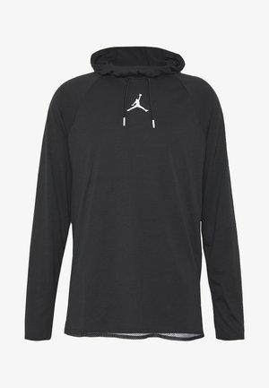 ALPHA DRY - Sports shirt - black/white