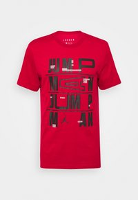 Jordan - CREW - T-shirt z nadrukiem - gym red - 4