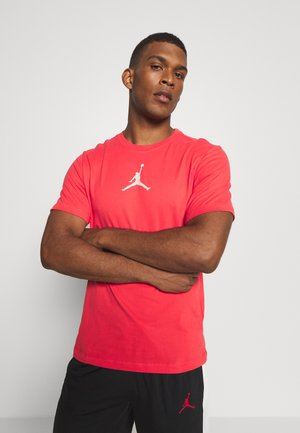 JUMPMAN CREW - T-shirt con stampa - track red