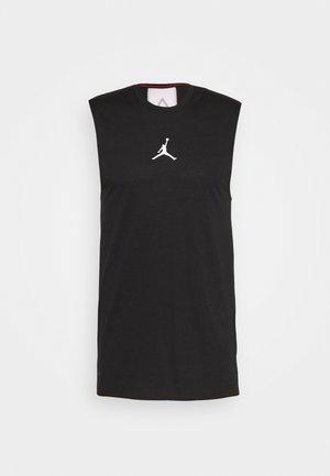 AIR TOP - Sportshirt - black/white