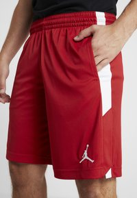Jordan - ALPHA DRY SHORT - Pantaloncini sportivi - gym red/white - 4