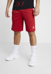 Jordan - ALPHA DRY SHORT - Pantaloncini sportivi - gym red/white - 0