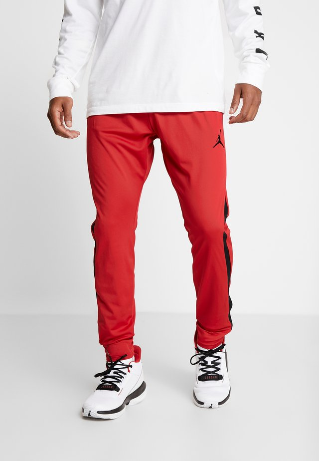 ALPHA DRY PANT - Verryttelyhousut - gym red/black