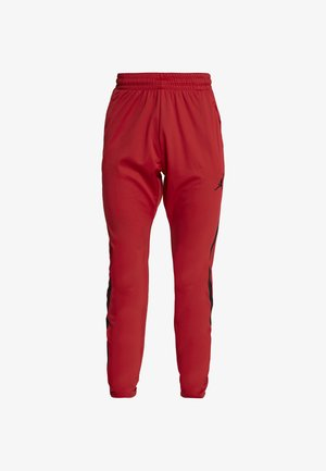 ALPHA DRY PANT - Pantalon de survêtement - gym red/black