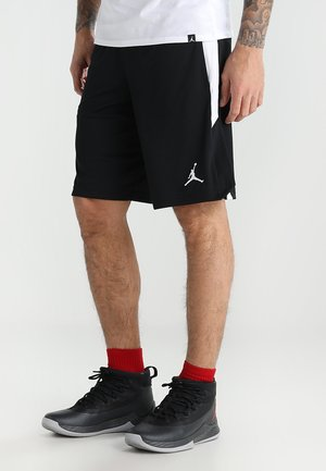 ALPHA DRY - Short de sport - black/white/white
