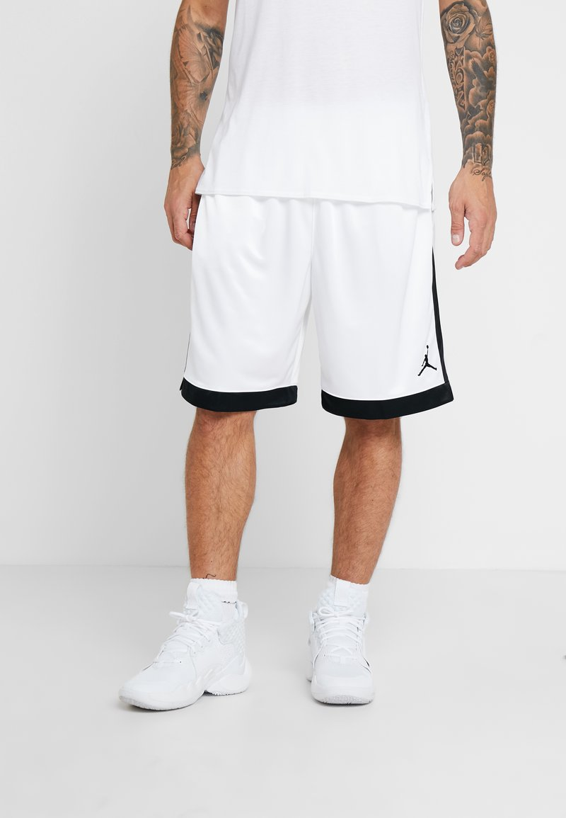 Jordan - FRANCHISE SHORT - Sports shorts - white/black