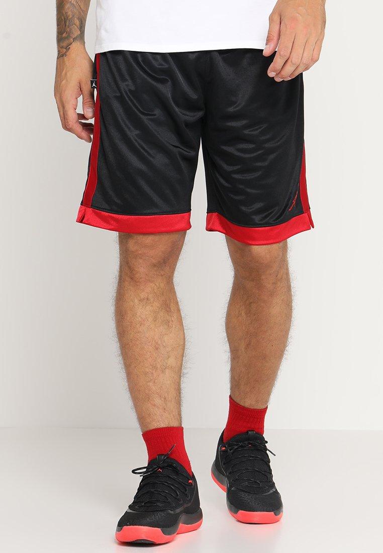 Jordan - FRANCHISE SHORT - Sports shorts - black/gym red
