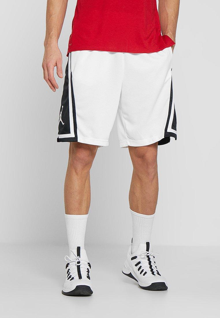 Jordan - Korte sportsbukser - white/black/white