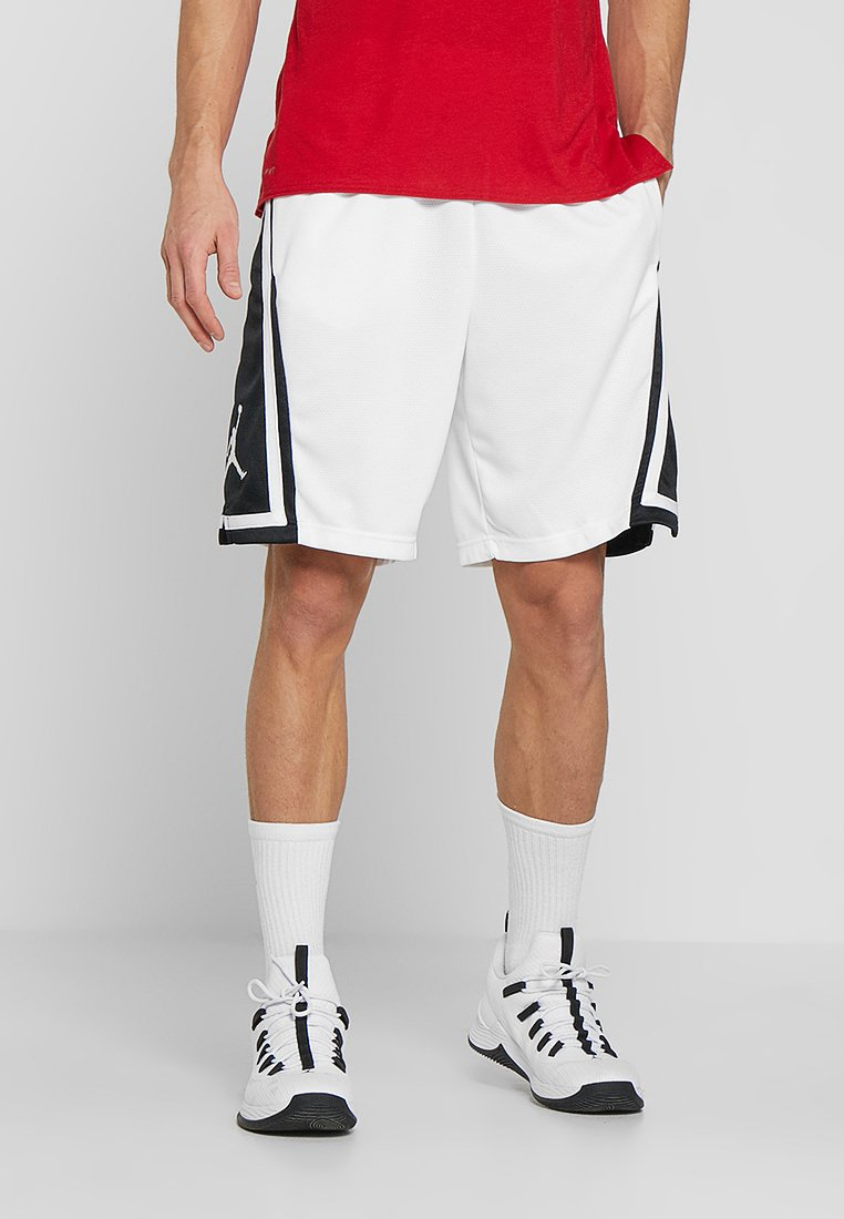 Jordan - Sports shorts - white/black/white