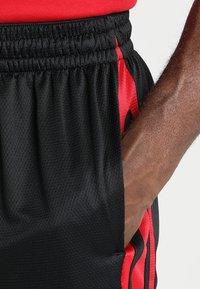 Jordan - Korte sportsbukser - black/gym red/black - 3