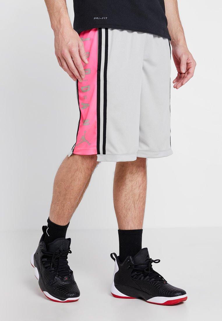 Jordan - BASKETBALL SHORT - kurze Sporthose - spruce fog/hyper pink/black