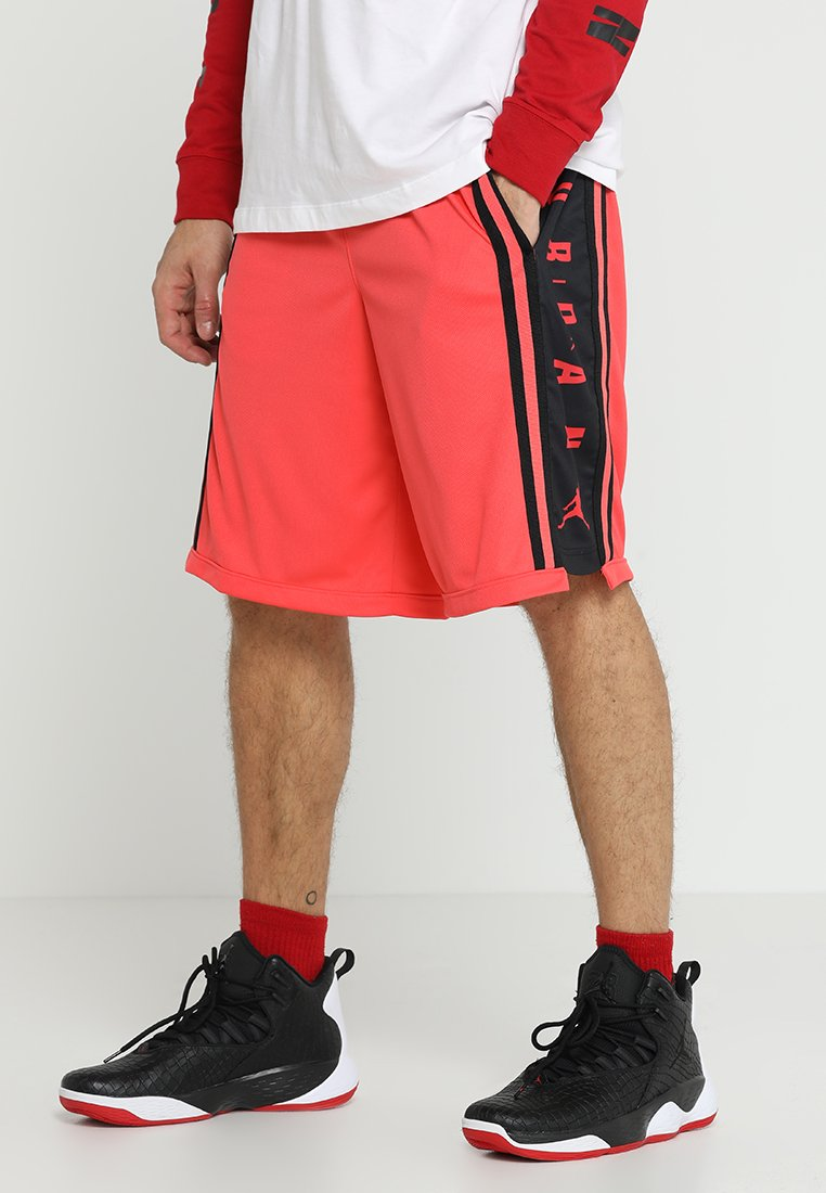 Jordan - BASKETBALL SHORT - Sports shorts - ember glow/black
