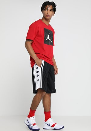 BASKETBALL SHORT - Träningsshorts - black/white/black