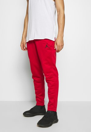 ALPHA THERMA PANT - Pantalon de survêtement - gym red/gym red/black