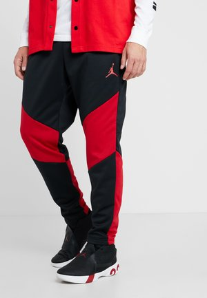 ALPHA THERMA PANT - Tracksuit bottoms - black/gym red