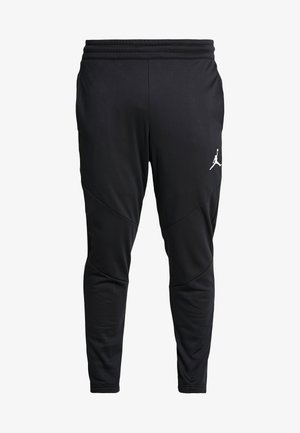 ALPHA THERMA PANT - Verryttelyhousut - black/white
