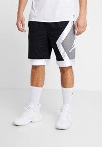 Jordan - JUMPMAN DIAMOND SHORT - Sports shorts - black/white - 0