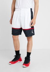 Jordan - JUMPMAN GRAPHIC SHORT - Träningsshorts - black/white/gym red - 0