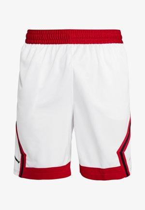 JUMPMAN STRIPED SHORT - Träningsshorts - white/gym red/black