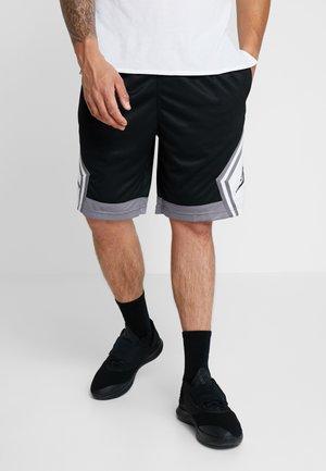 JUMPMAN STRIPED SHORT - Krótkie spodenki sportowe - black/gunsmoke/white