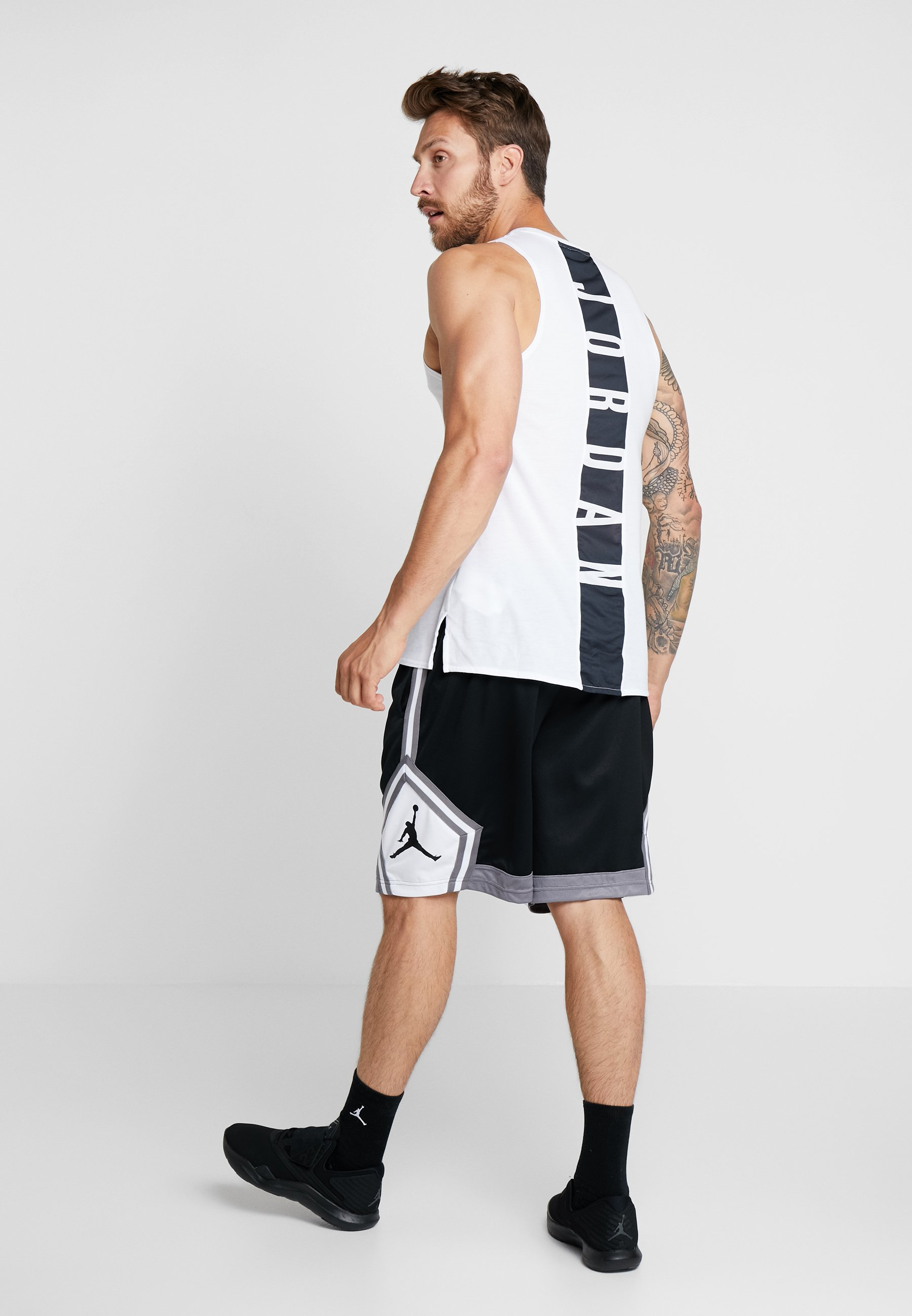 white Jordan Black Sport ShortDe Jumpman Striped gunsmoke W9E2DHI