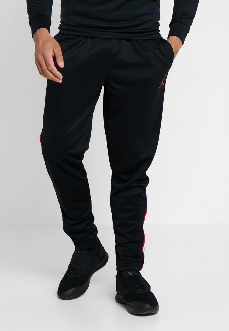 Jordan - JUMPMAN SUIT PANT - Tracksuit bottoms - black/white/gym red