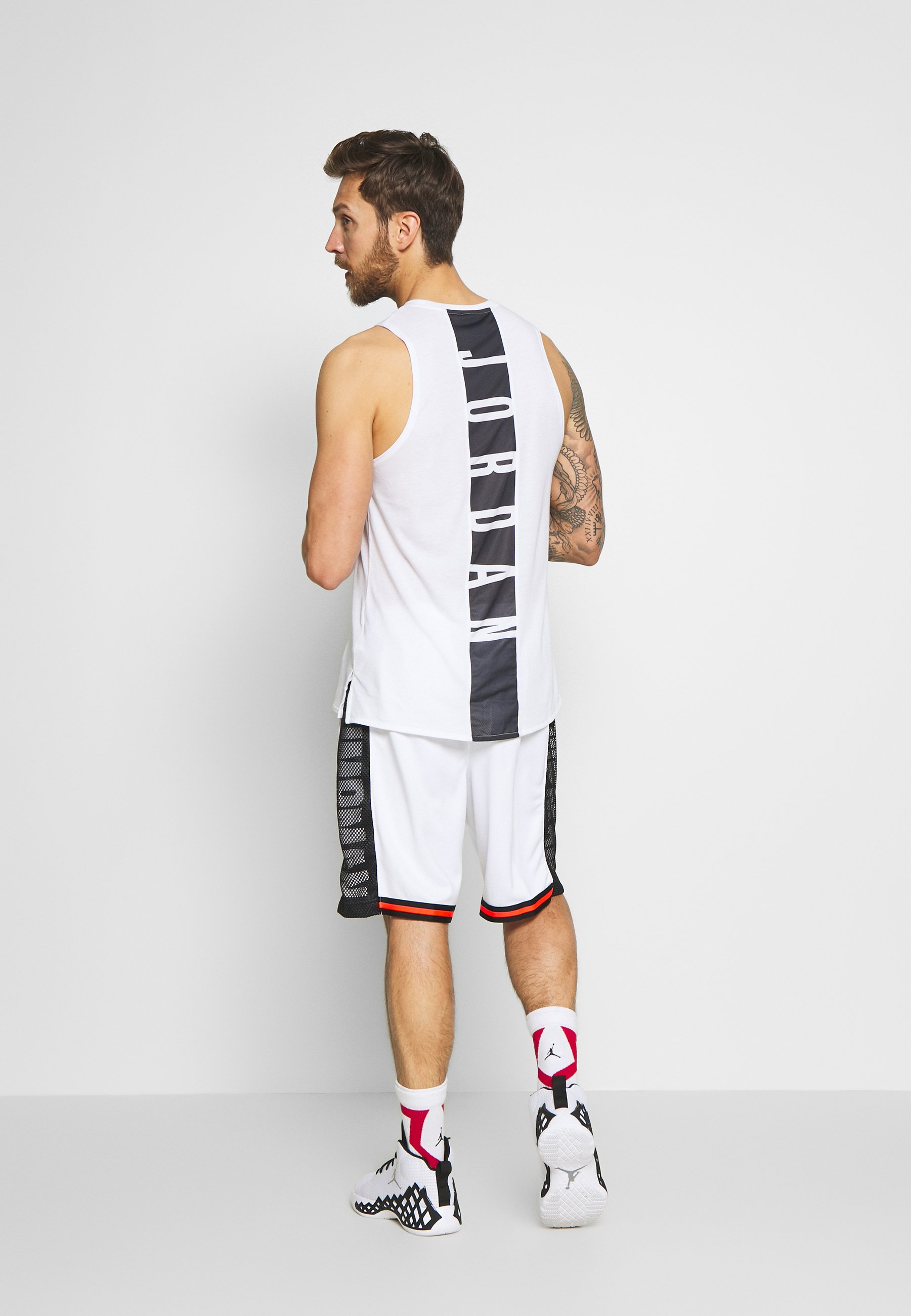 Jordan Jumpman Short - Träningsshorts White/black/infrared