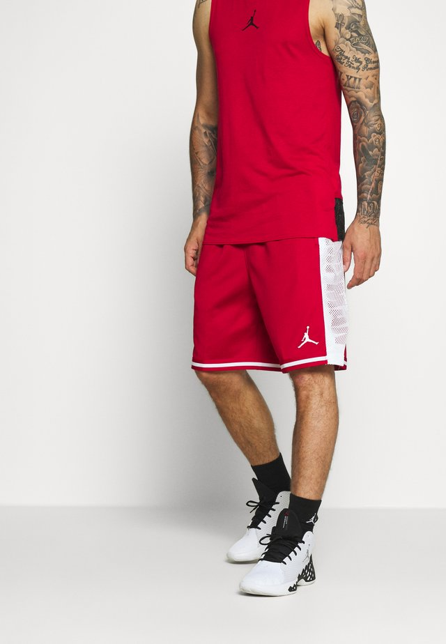 JUMPMAN BBALL SHORT - Pantaloncini sportivi - gym red/white