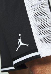 Jordan - JUMPMAN BBALL SHORT - Pantaloncini sportivi - black/white - 5