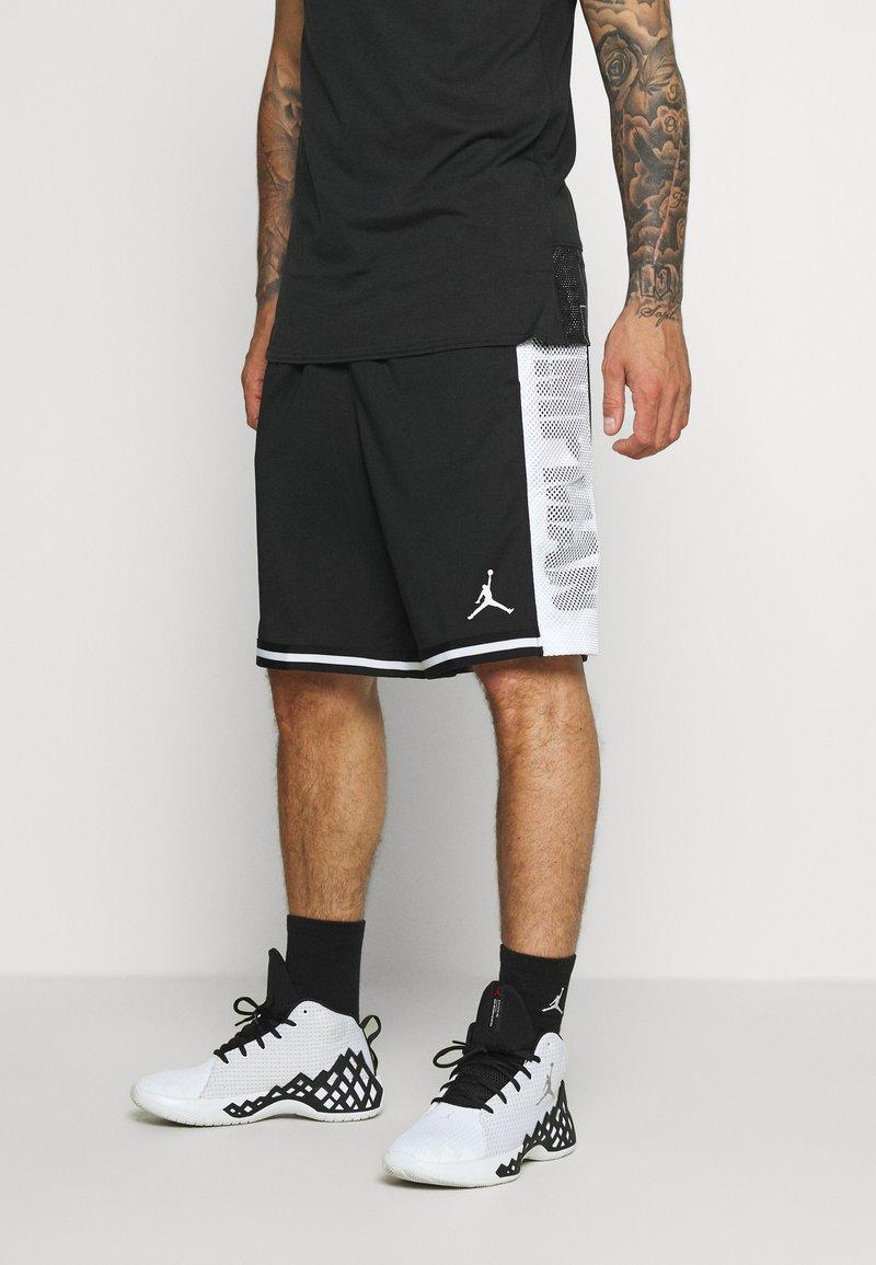 Jordan - JUMPMAN BBALL SHORT - Pantaloncini sportivi - black/white