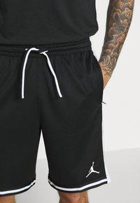 Jordan - JUMPMAN BBALL SHORT - Pantaloncini sportivi - black/white - 3