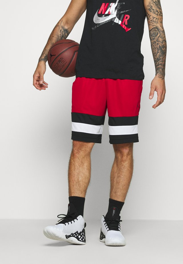 JUMPMAN BBALL SHORT - Pantaloncini sportivi - gym red/black/white/black