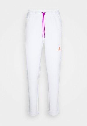 AIR PANT - Verryttelyhousut - white/vivid purple/infrared