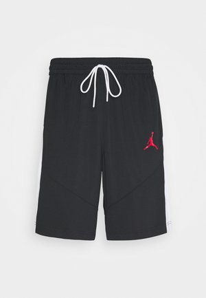 JUMPMAN SHORT - kurze Sporthose - black/black/white/gym red