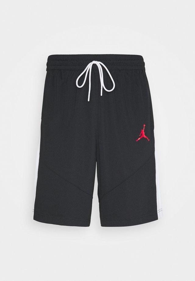 JUMPMAN SHORT - Träningsshorts - black/black/white/gym red