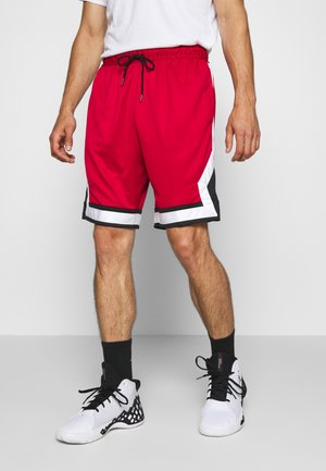 JUMPMN DIAMOND SHORT - Sportovní kraťasy - gym red/black/white