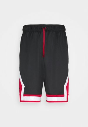 JUMPMN DIAMOND SHORT - Urheilushortsit - black/gym red/white/black