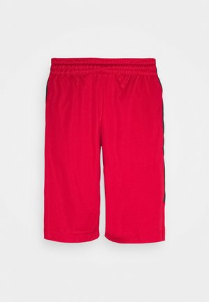 AIR DRY SHORT - Urheilushortsit - gym red/black/black