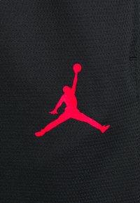 Jordan - AIR SHORT - Urheilushortsit - black/white/infrared - 3