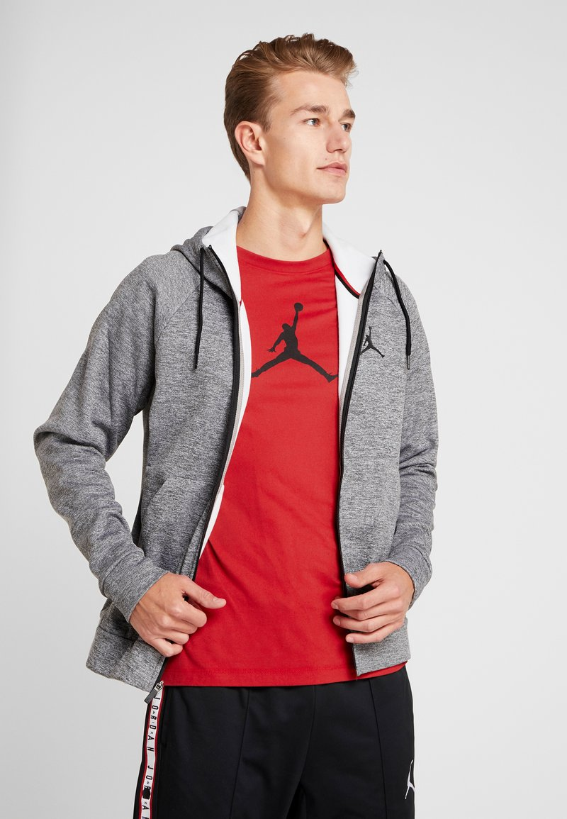 Jordan - ALPHA THERMA - Fleecejacke - carbon heather/black