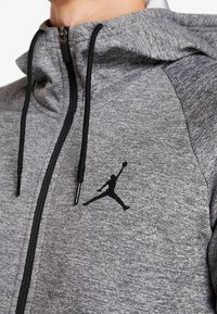 Jordan - ALPHA THERMA - Fleecejas - carbon heather/black - 5