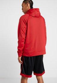 Jordan - ALPHA THERMA - Fleecejakke - gym red/black - 2