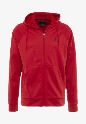 ALPHA THERMA - Fleece jacket - gym red/black