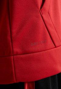 Jordan - ALPHA THERMA - Fleecejakke - gym red/black - 4
