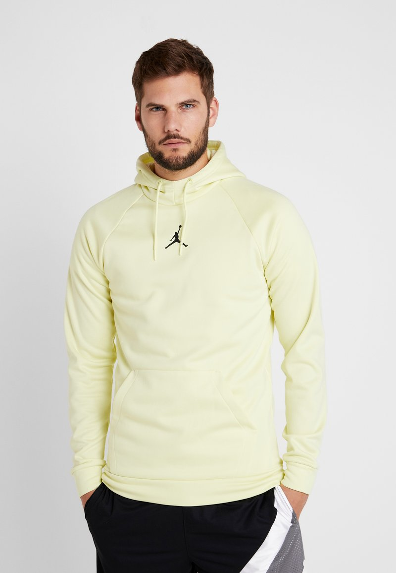 Jordan - 23ALPHA THERMA - Jersey con capucha - luminous green/black