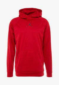 Jordan - 23ALPHA THERMA - Bluza z kapturem - gym red